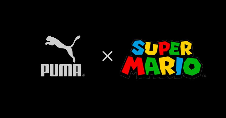 PUMA gaat samenwerking aan met Nintendo, Super Mario
