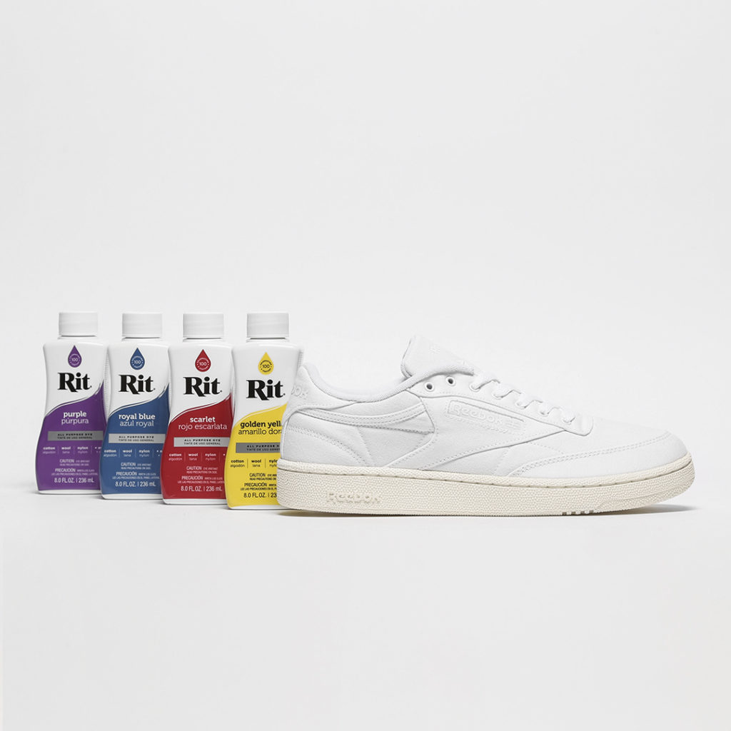 Size? Reebok Club C self dye