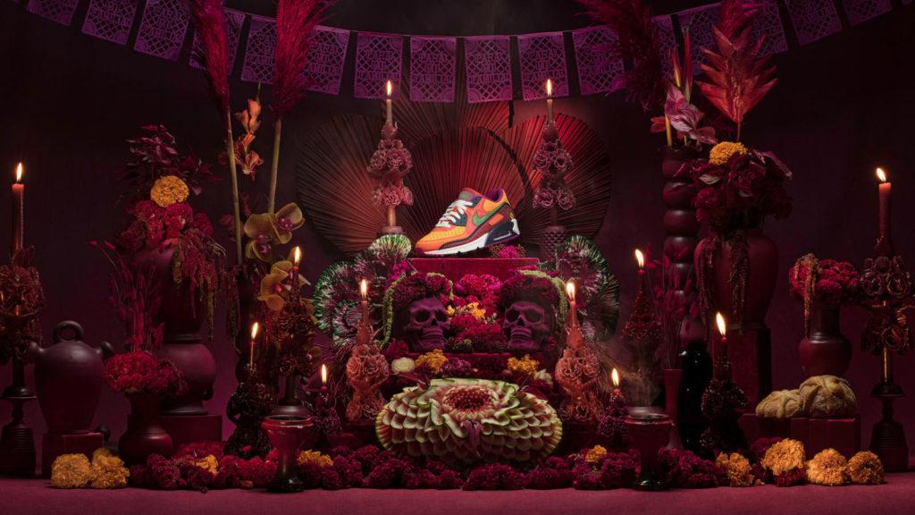 Nike Air Max 90 Día de Muertos