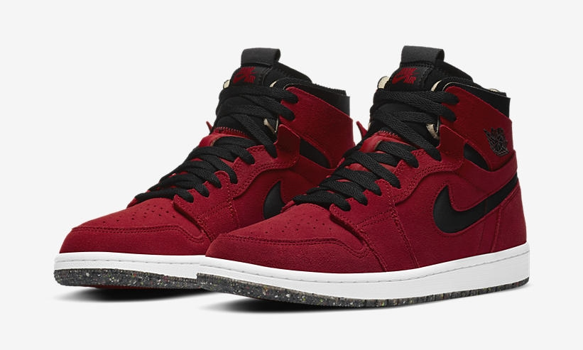 Air Jordan 1 High Zoom 'Crater Black/Red'