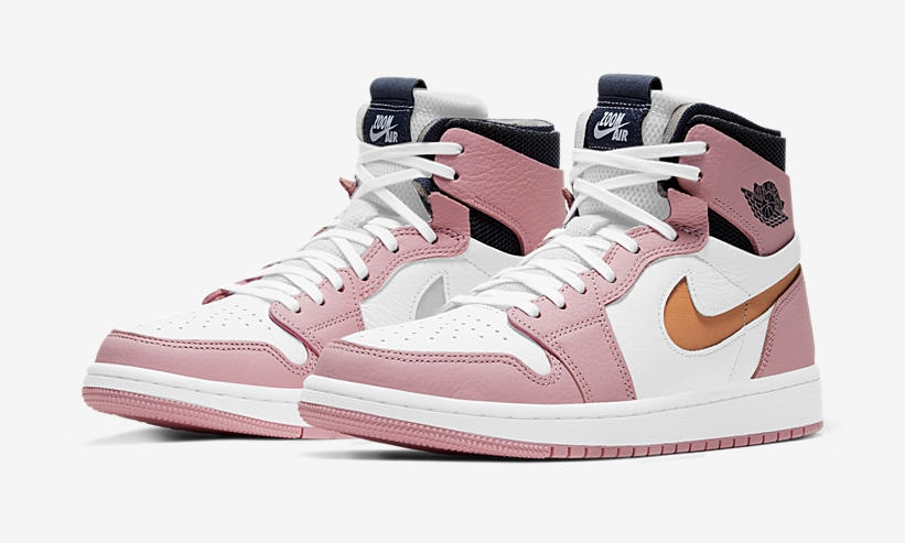 Air Jordan 1 High Zoom 'Pink Glaze/Cactus Flower'