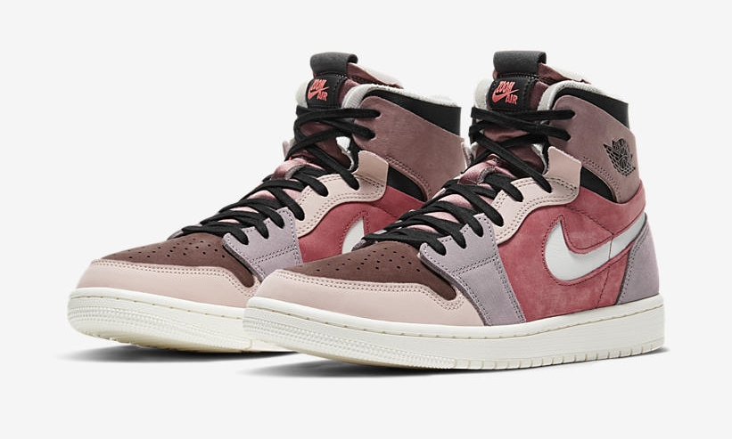 Air Jordan 1 High Zoom 'Canyon Rust/Sail/Purple Smoke'
