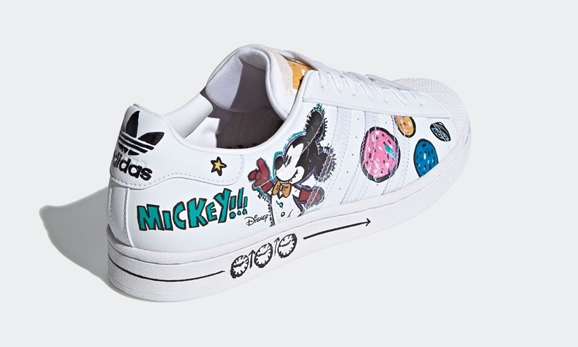 Disney's Mickey adidas Fangtastic superstar