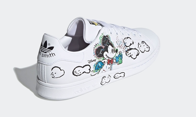 Disney's Mickey adidas Fangtastic stan smith