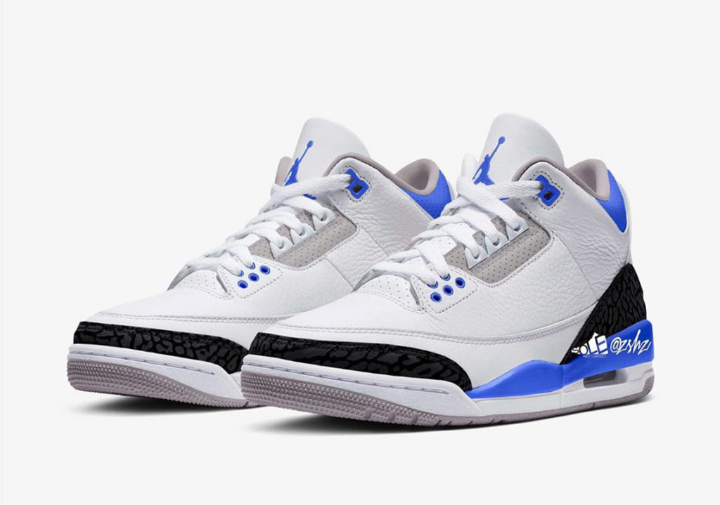 Air Jordan 3 'Racer Blue'