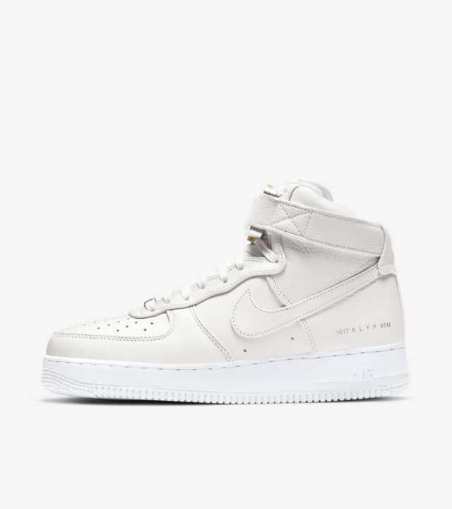 Nike Air Force 1 High x ALYX 'tripple white'