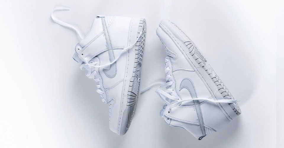 Nike Dunk High SP 'Pure Platinum'