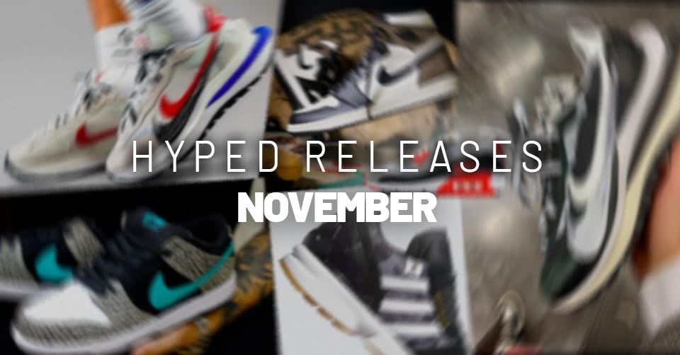 Sneaker releases november 2020