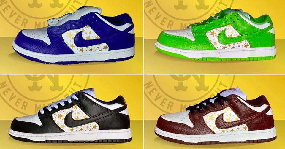 Supreme x Nike SB Dunk