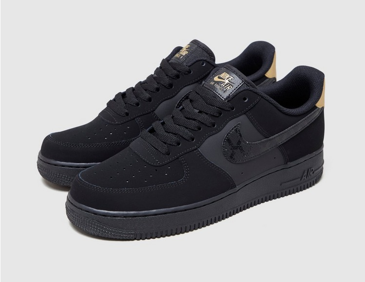 Nike Air Force 1 '07 LV8 'Black/Gold'