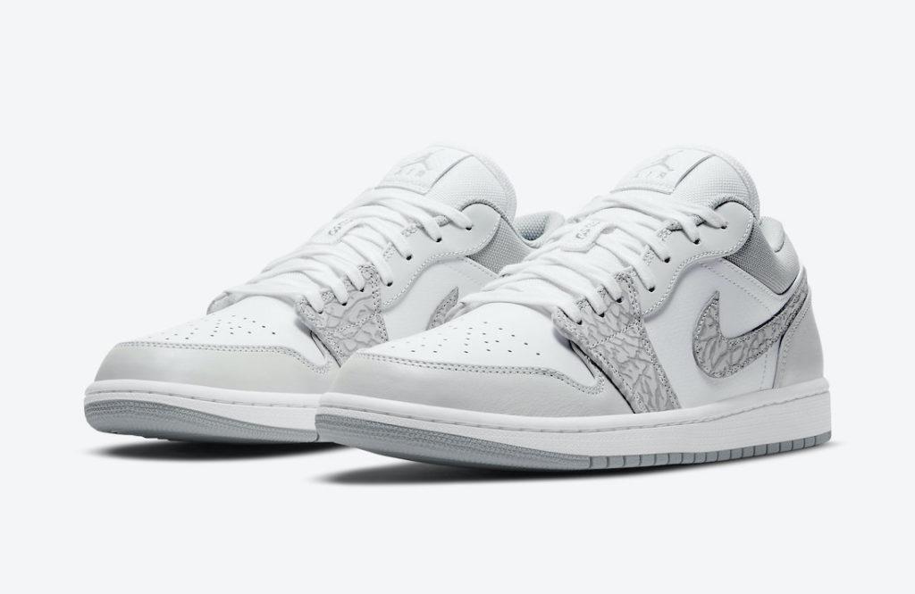 The 'elephant' print returns to the Air Jordan 1 Low - Sneakerjagers
