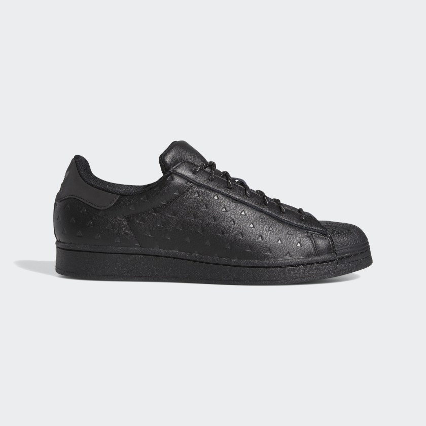 Pharrell Williams adidas triple black