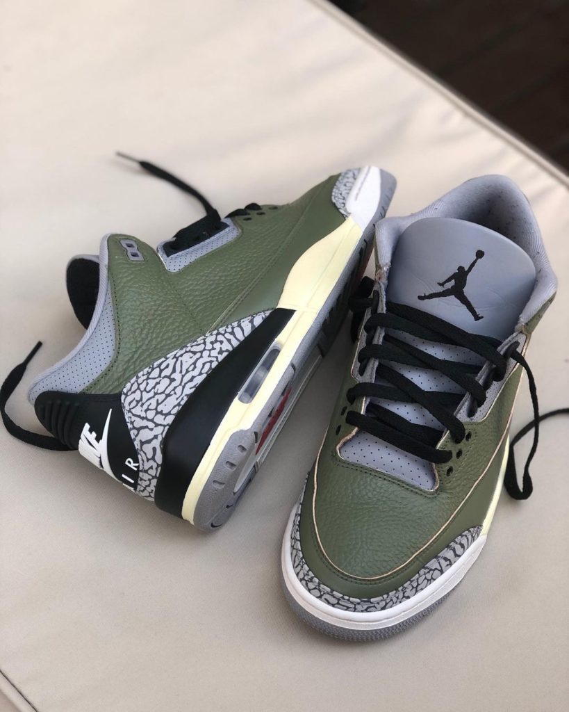 Air Jordan 3 'Aged olive'