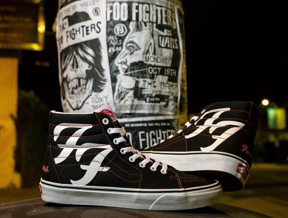 Foo Fighters Vans