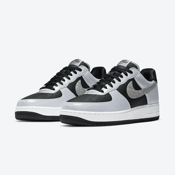 Nike Air Force 1 3M 'Silver Snake'