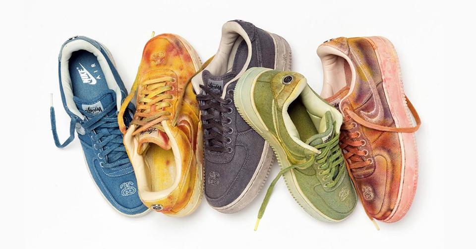 Nike Air Force 1 x Stüssy