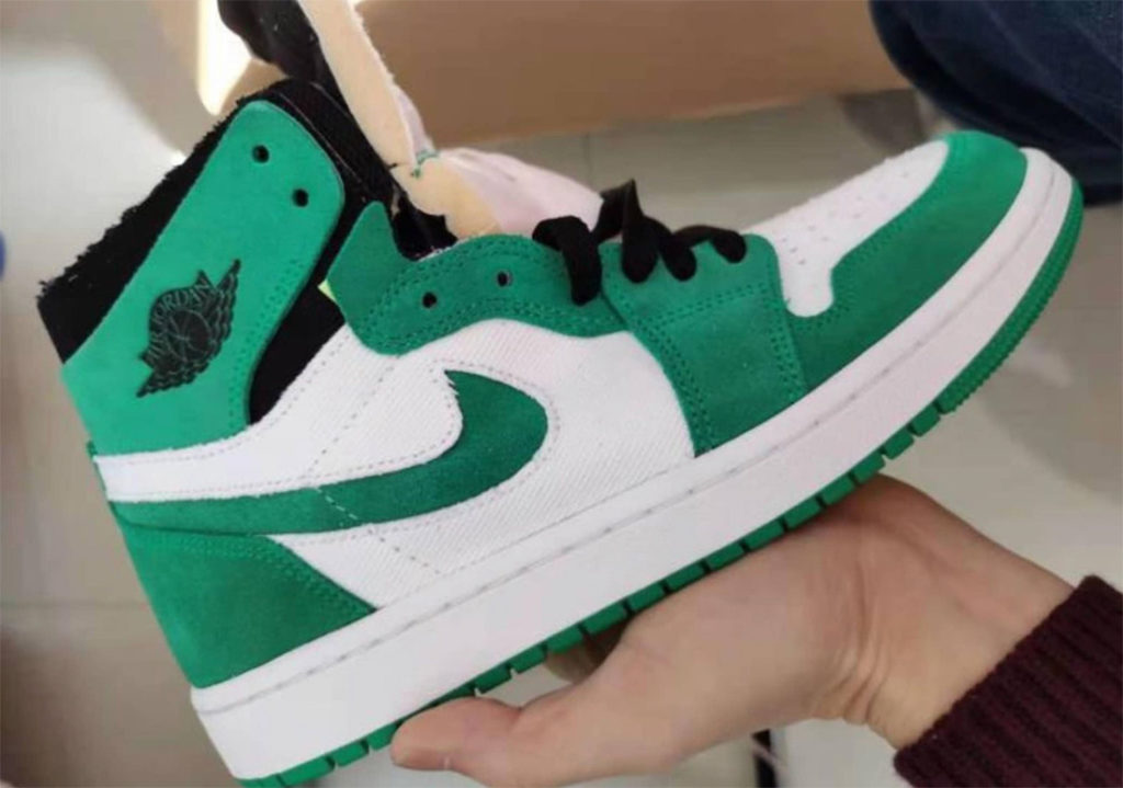 Air Jordan 1 Zoom High 'Stadium Green