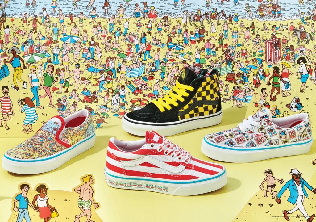 Where's Waldo x Vans