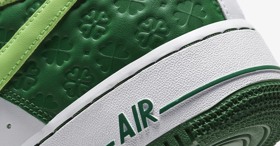 nike air force 1 st patrick's day