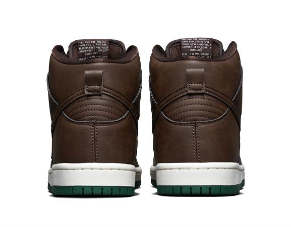 Nike SB Dunk High Vegan Baroque Brown