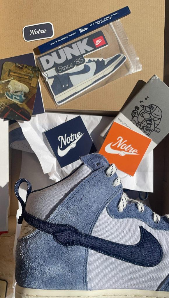 Notre Nike Dunk High