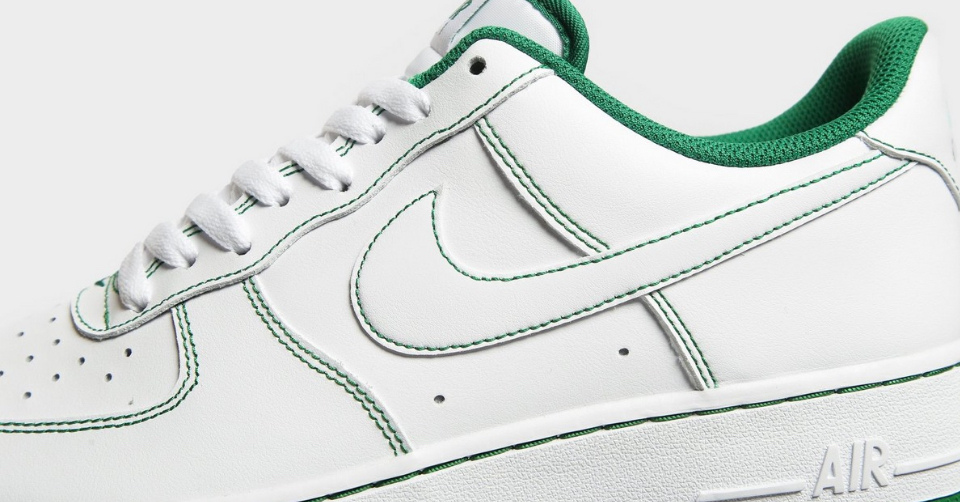 Nike Air Force 1 'Stitched Green'