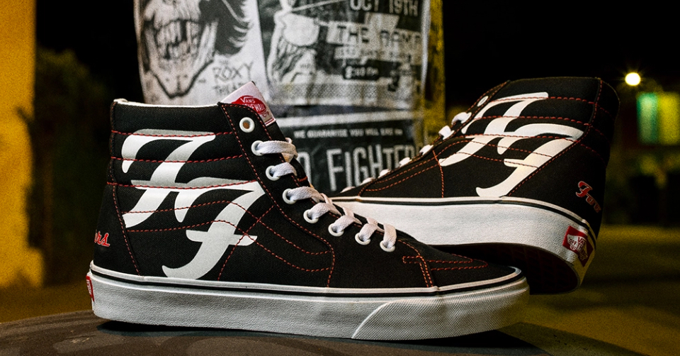 Foo Fighters vans sk8-hi