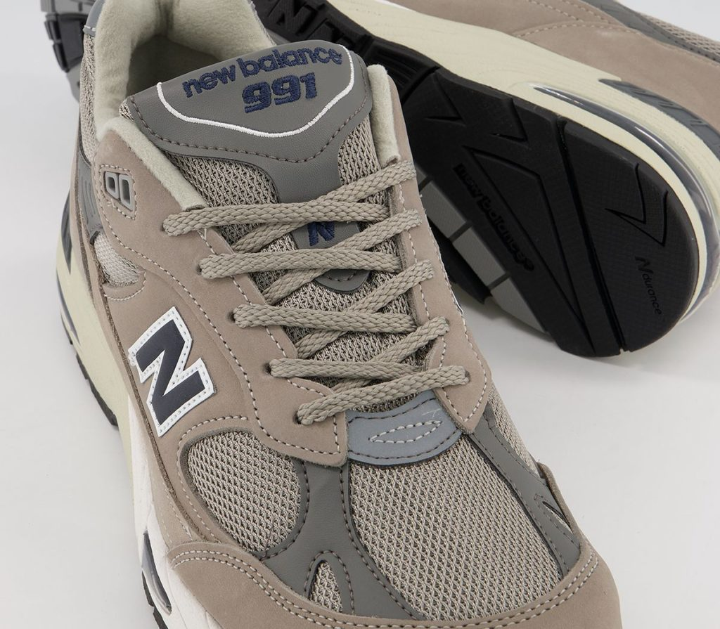 New Balance M991ANI Navy Gray