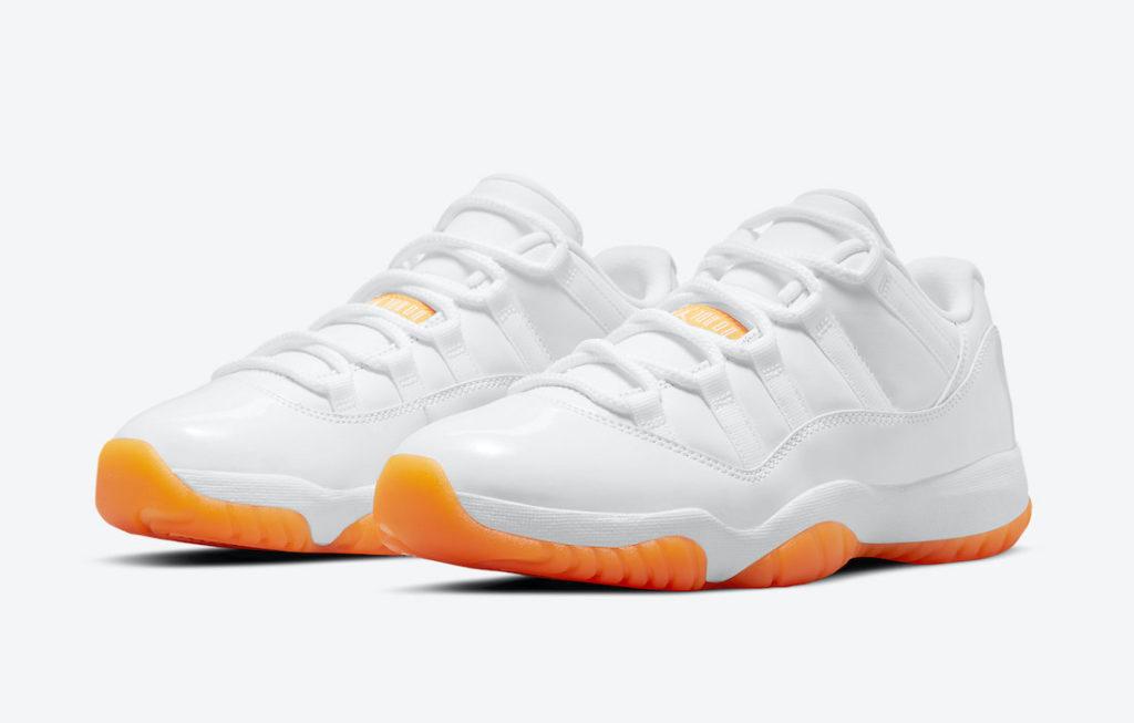 Air Jordan 11 Low 'Bright Citrus'