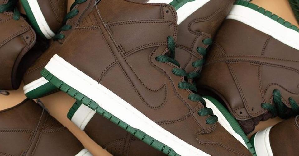 Nike SB Dunk High Vegan Barboque Brown