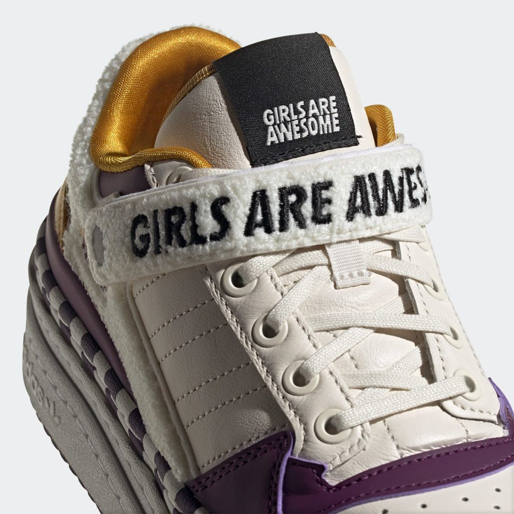 Girls Are Awesome x adidas Triple Platform Low | GY2618