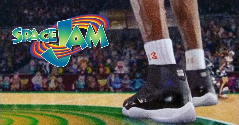 Deze '90s Sneakers van 'Space Jam' heb je nog niet gezien