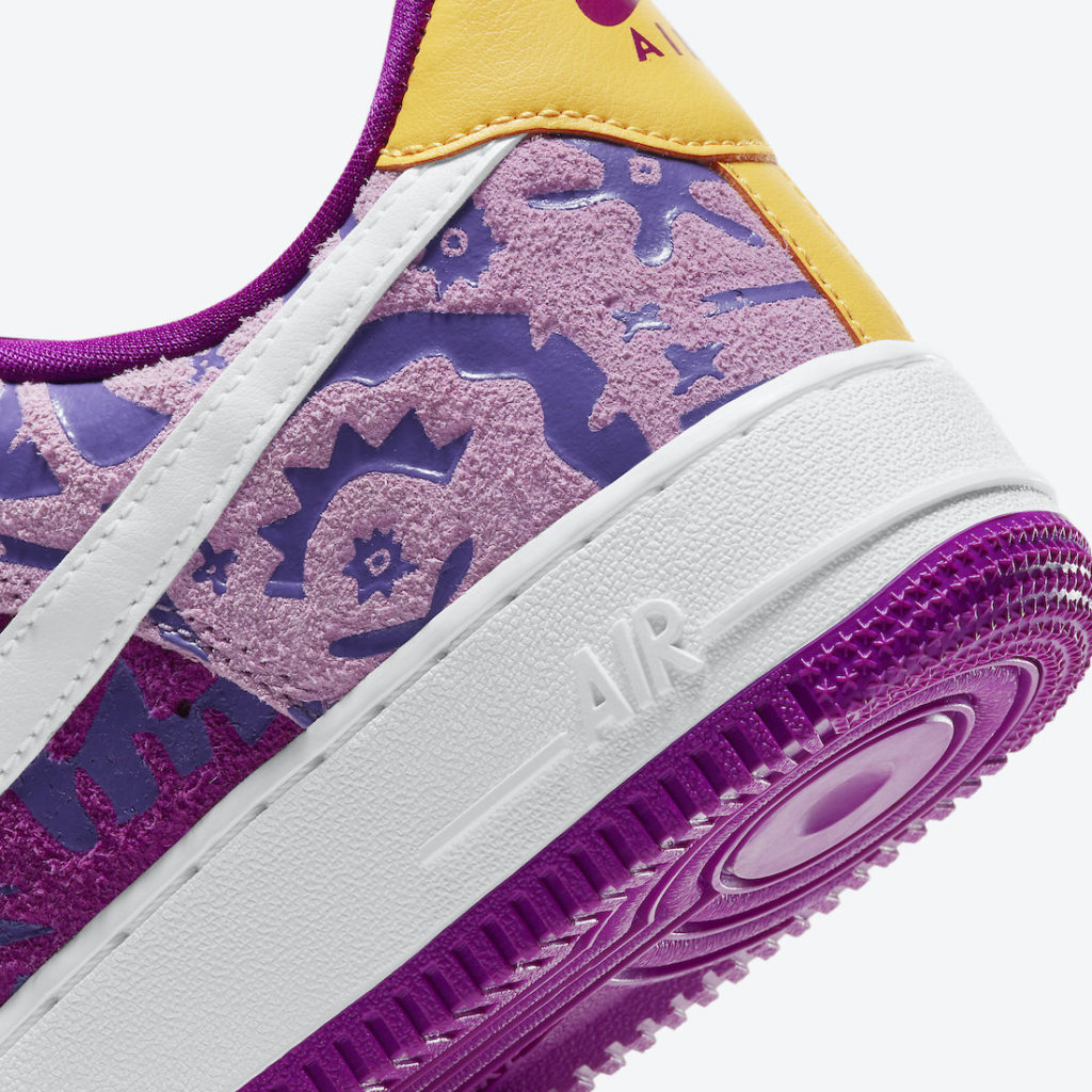 Air Force 1 07 'Red Plum' | DD5516-584