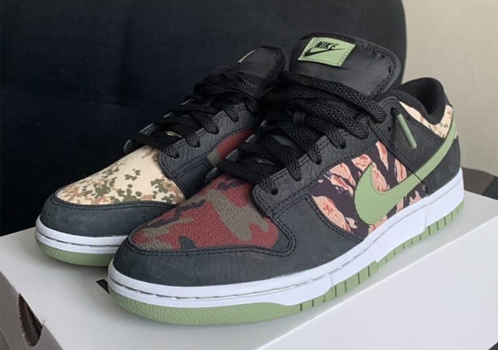 Nike Dunk Low 'Oil Green'