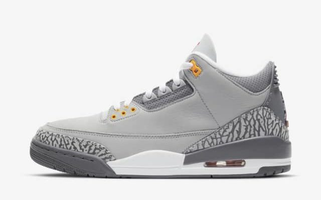 Jordan 3 Retro 'Cool Grey'