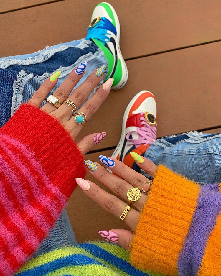 Sneakers and nails