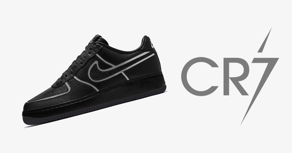 Geef de Air Force 1 CR7 een eigen draai met Nike By You