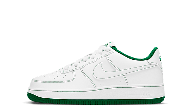 Nike Air force 1 green stitches