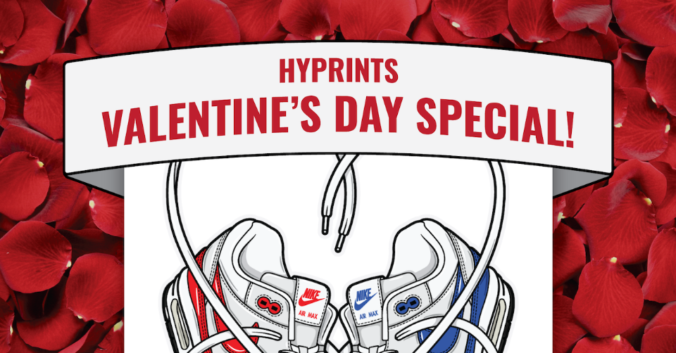 Hyprints Valentine's Day Special Sneaker Print