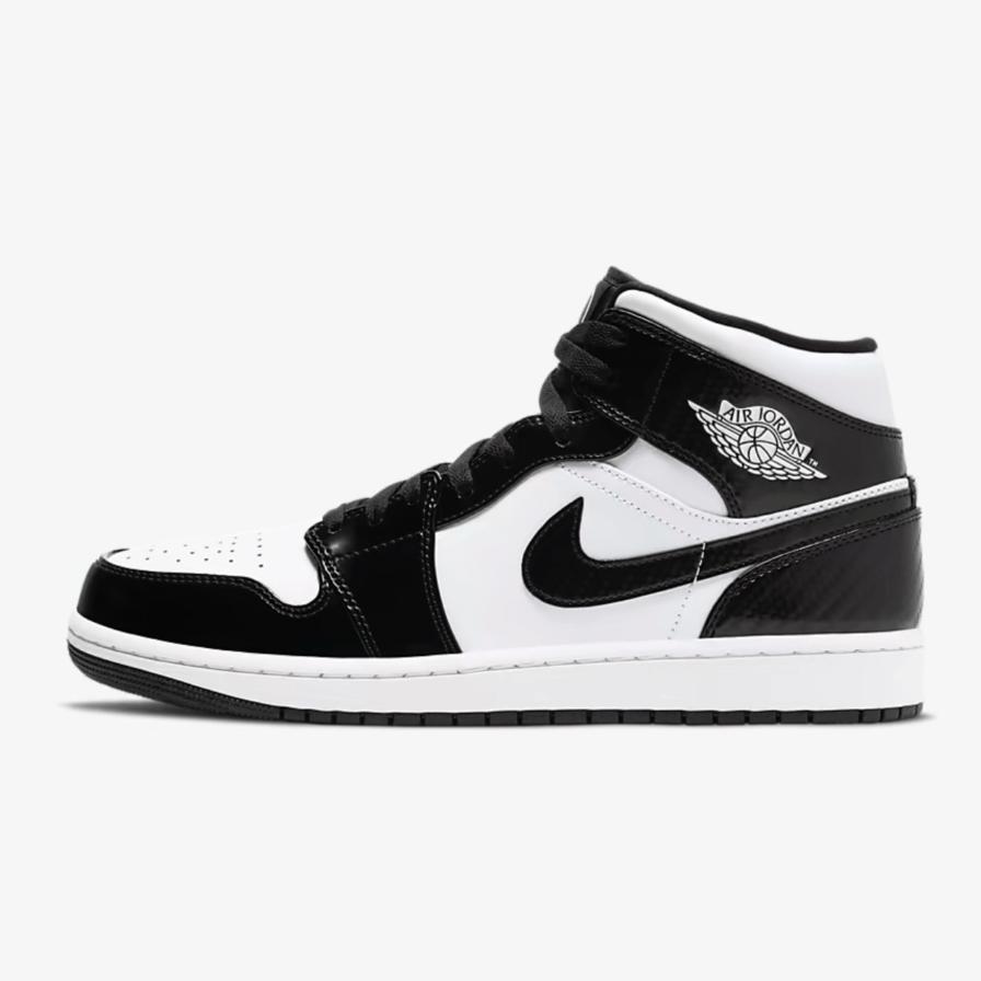 Black and White Jordan