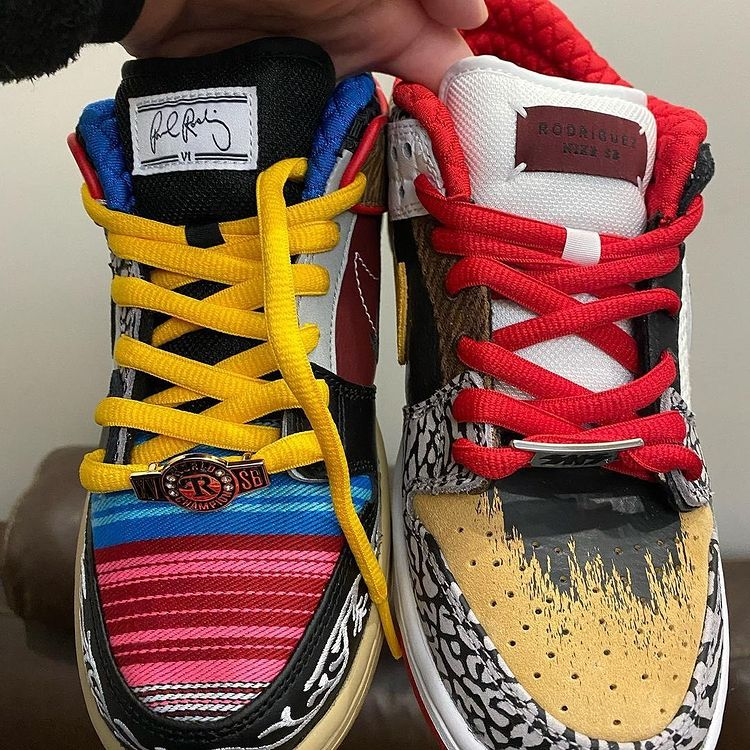 SB Dunk Low 'What The P-rod'