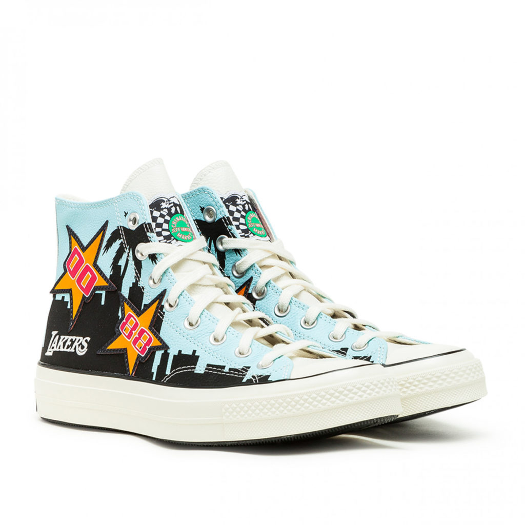 lakers chunk 70 high top converse x chinatown market