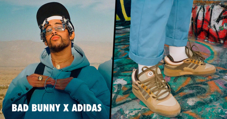 Bad Bunny x adidas Forum Buckle Low 'The First Café'