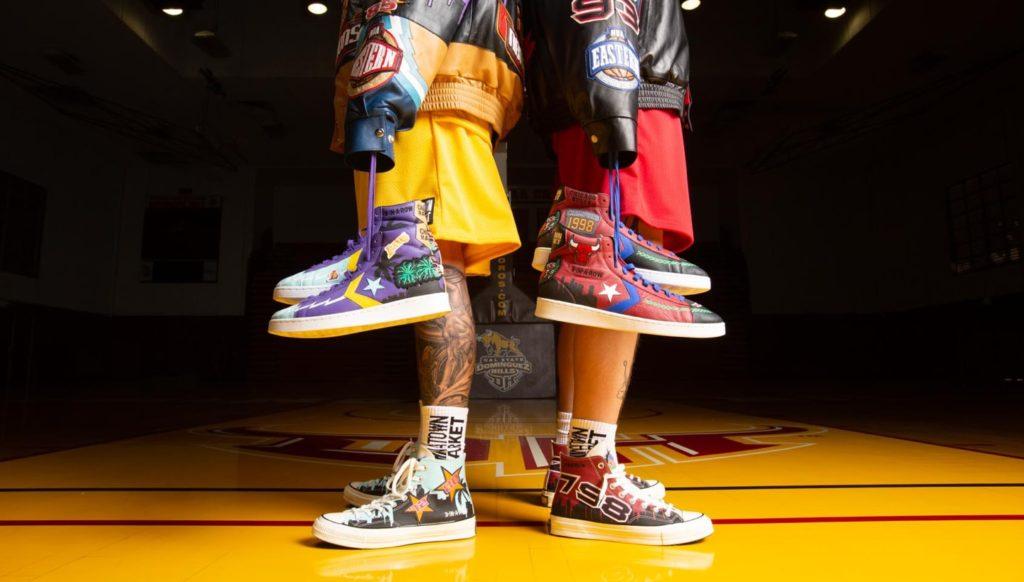 Jeff Hamilton converse x chinatown market x NBA x chuck taylor design
