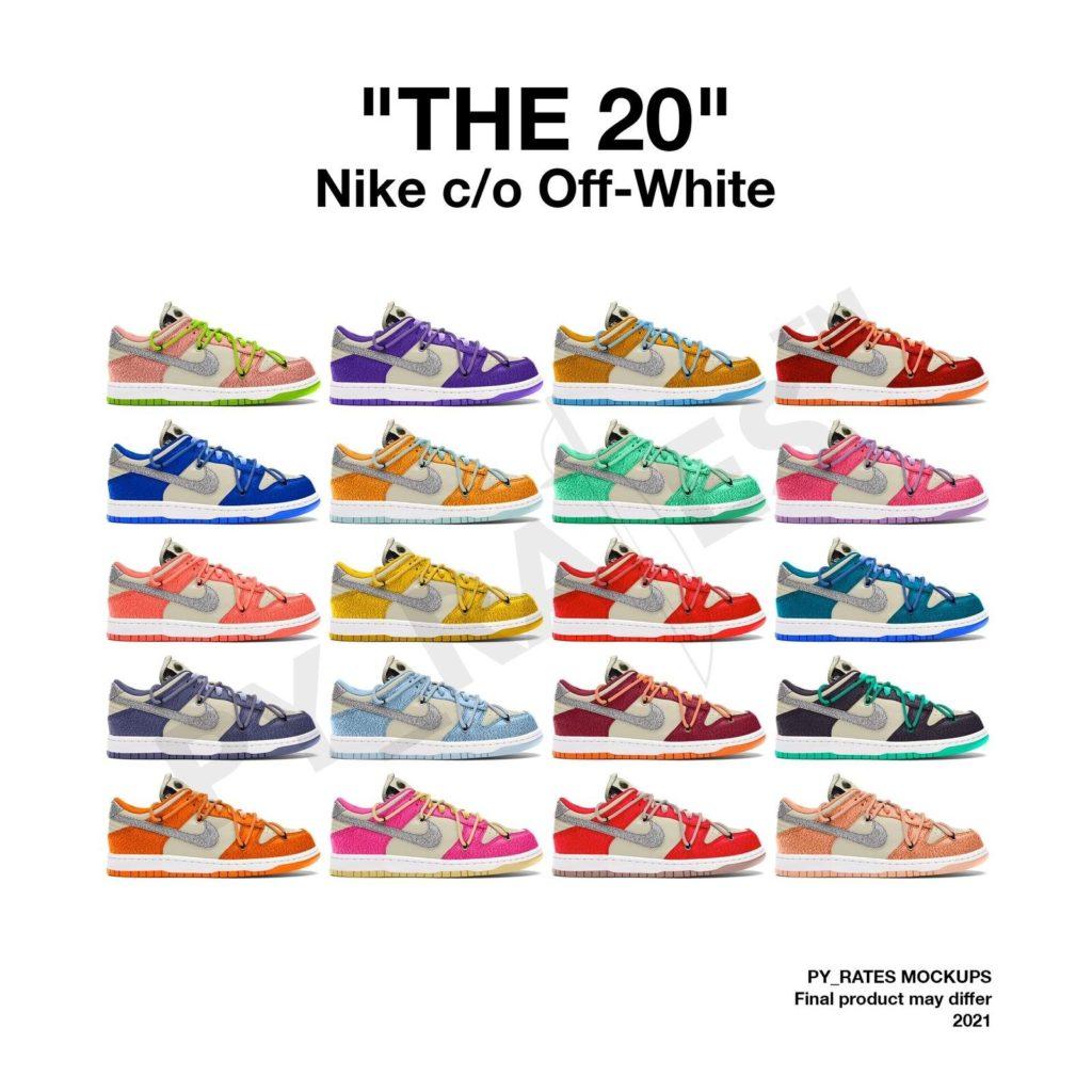 Off-White x Nike 'THE 20'