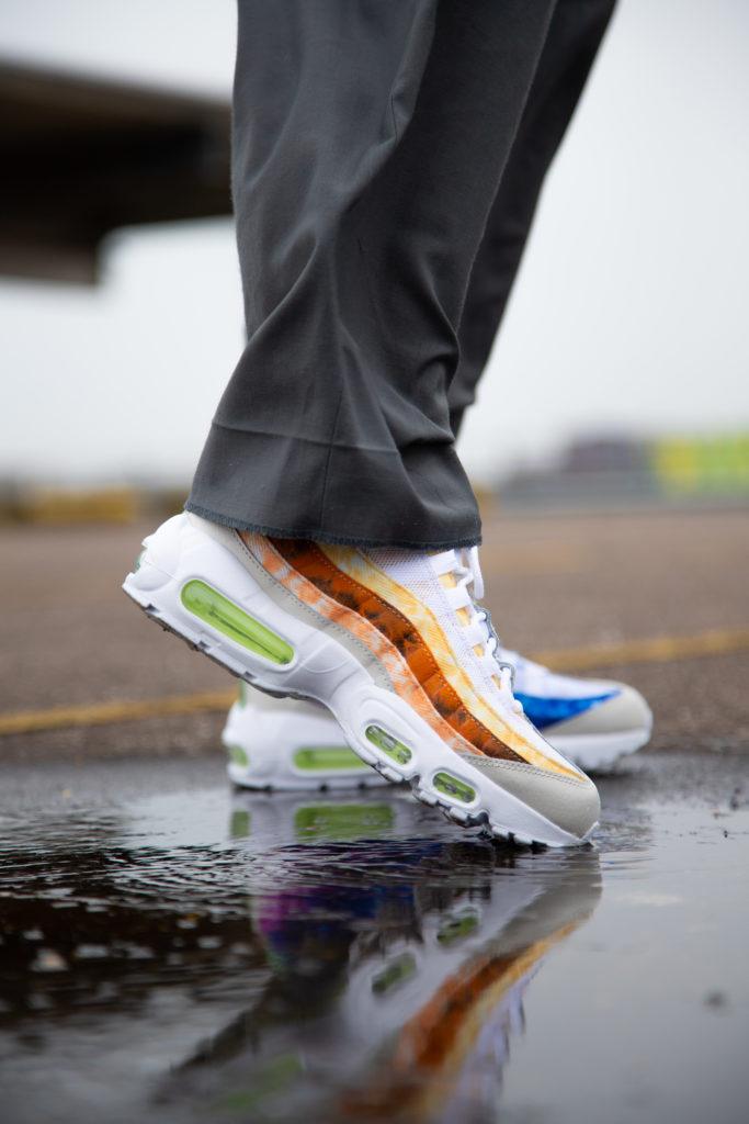 Nike Air Max 95 FF tie dye | DJ4594-100