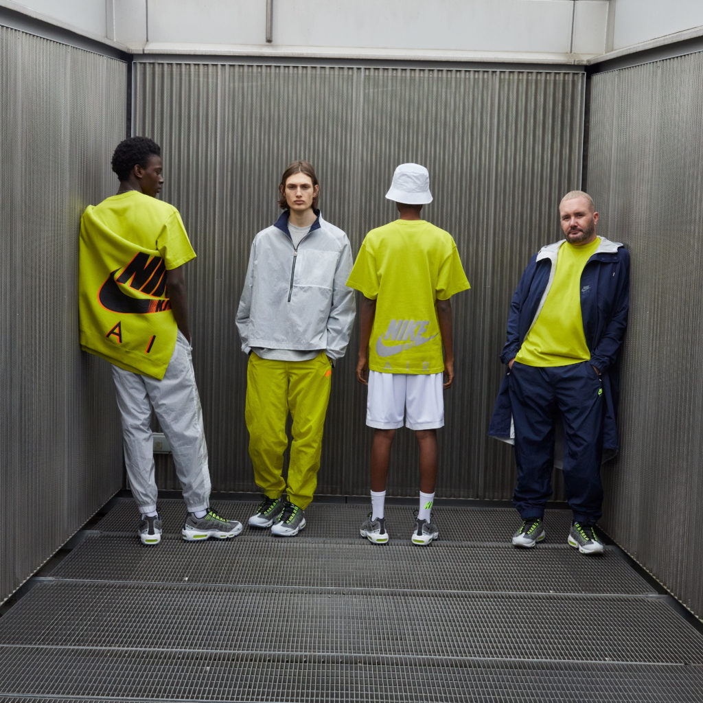 Kim Jones x Nike Air Max 95 volt clothing