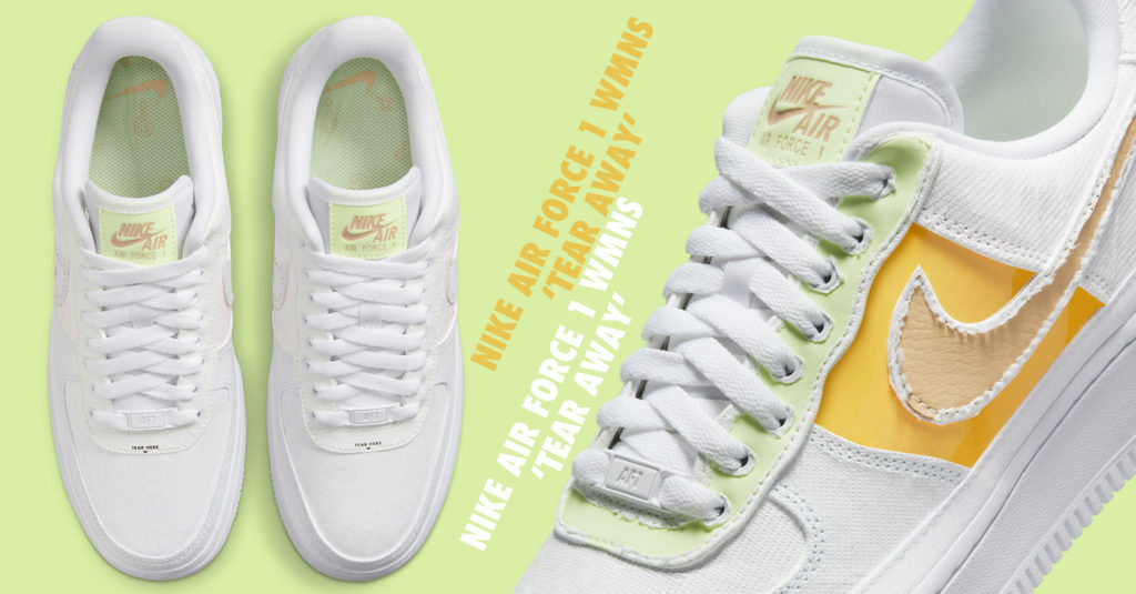 Nike Air Force 1 WMNS Tear Away
