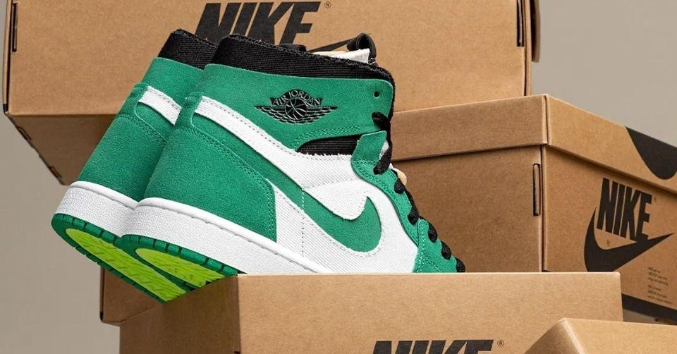 "Air Jordan 1 Zoom CMFT ""Stadium Green"""