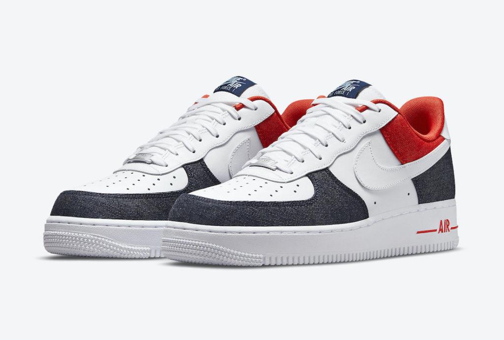Nike Air Force 1 Patriotic Denim | DJ5174-100